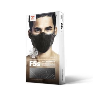 1_package F5s-8 Оригинальная моющаяся, фильтрующая, маска
