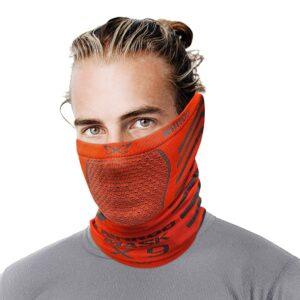 x9-NAROO зимняя маска-красный с серым-min