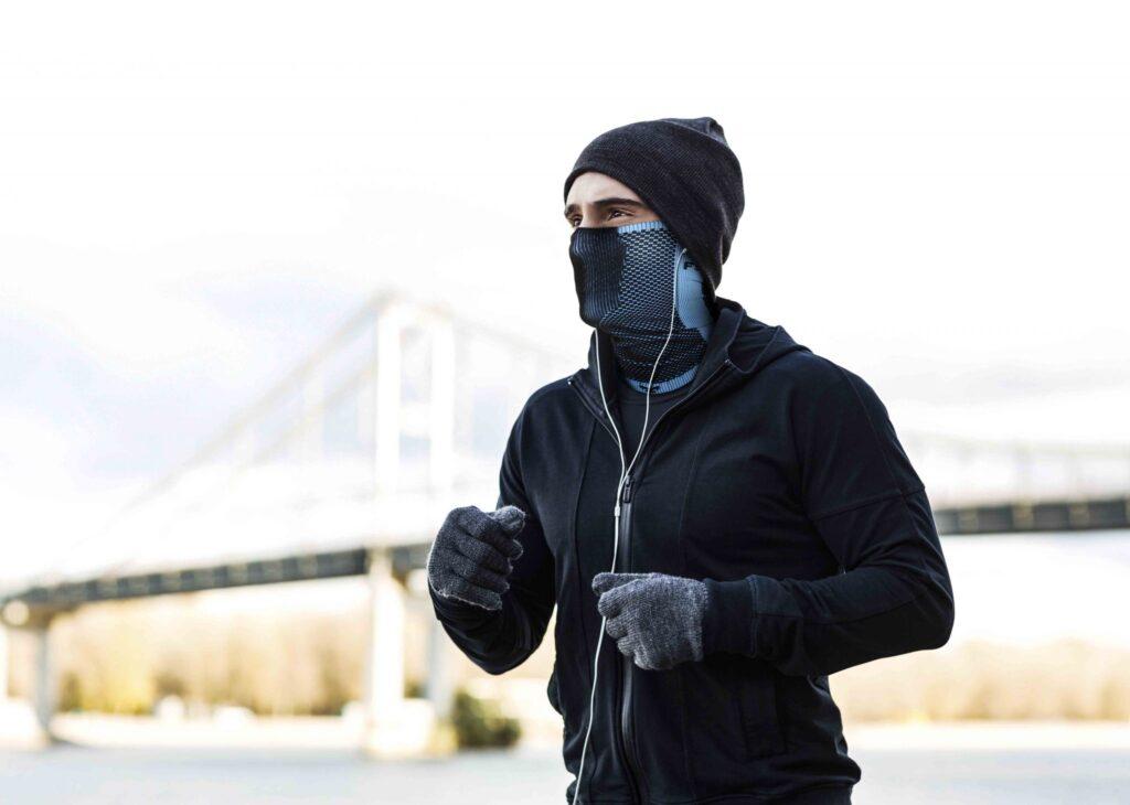 маска для бега зимой купить NAROO F5