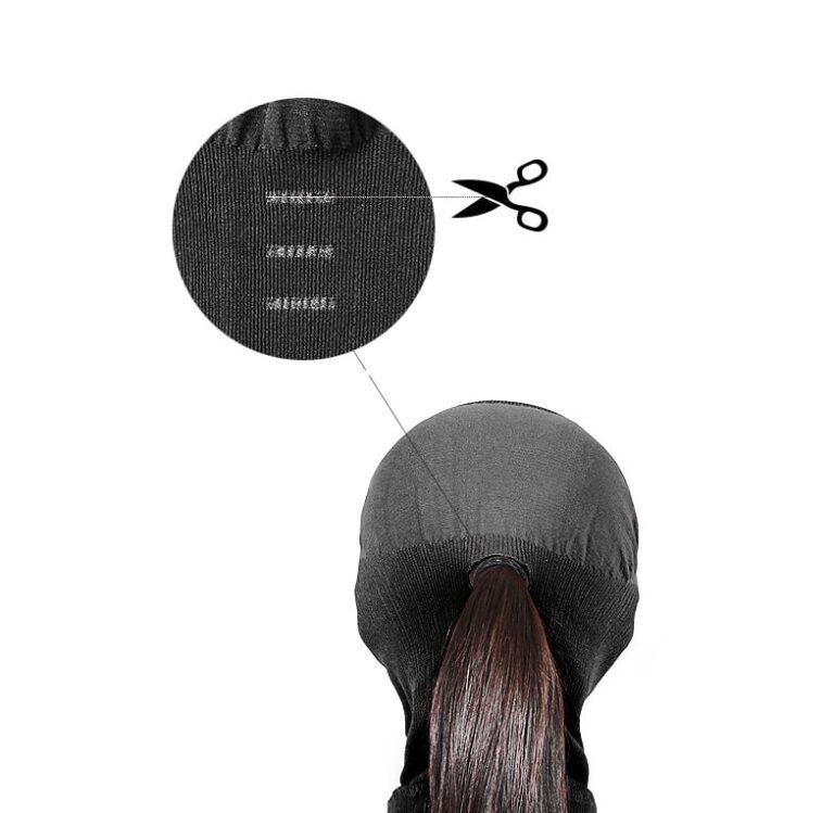 Разработана для полного покрытия без дискомфорта Можно легко открыть дополнительные разрезы, и получить больше места для волос