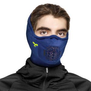 NAROO Z5H | Зимняя Анти-фог Полу-Балаклава - синий