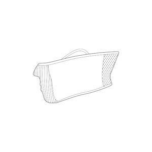 F1S_Graphic Охлаждающая Моющаяся Защитная Фильтр Маска
