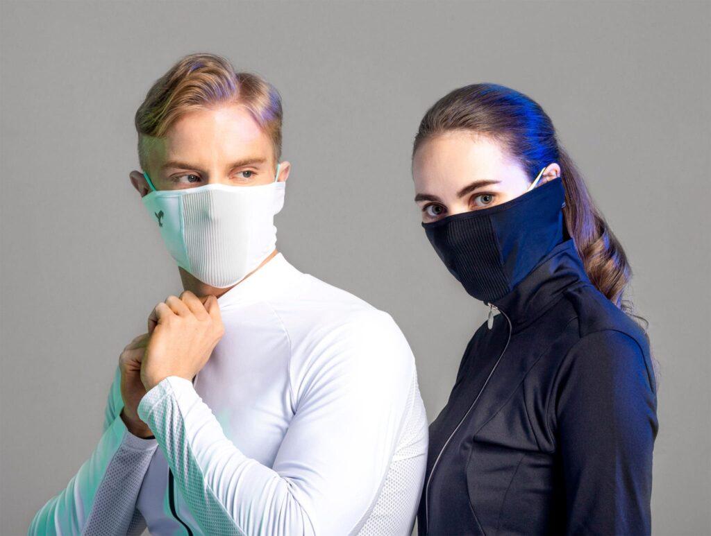 NAROO F1s - Моющаяся, фильтрующая, охлаждающая маска (короткая, облегающая модель) 002-min